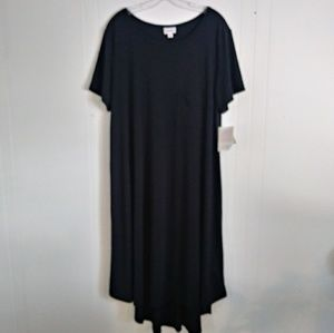 LuLaRoe Black Carly 3XL